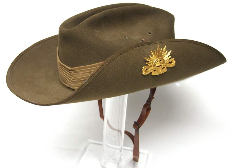 Nothing says Australian Army more than the iconic slouch hat 76ee70d7afe9